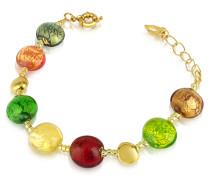 Frida - Armband aus Muranoglasperlen