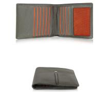 Web Collection - Herren Brieftasche aus Nappa in dunkelbraun