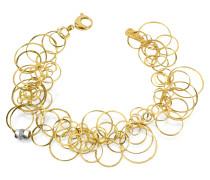 Scintille - Armband aus 18k Gelbgold mit Diamanten