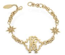 RC Icon Golden Metal Bracelet w/Stars