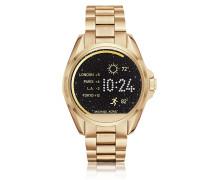 Bradshaw Damen Smartwatch aus goldfarbenem Edelstahl