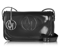 Signature Faux Patent Leather Crossbody