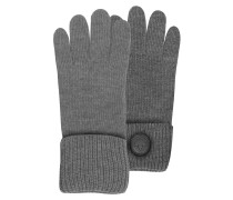 Cable Knit Herren-Handschuhe aus Wolle