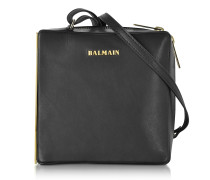 Pablito Black Leather Shoulder Bag