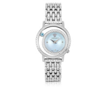 Venus Stainless Steel w/Light Blue Dial Women's Watch