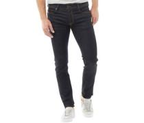 Herren Troxer R0841 Jeans in Slim Passform Dunkelblau