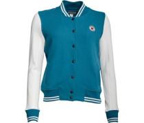 Damen Core Bomber Jacke Blaugrün