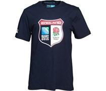 Canterbury Herren ER England Shield T-Shirt Blau
