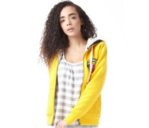 adidas Neo Womens Sherpa Hoody Yellow
