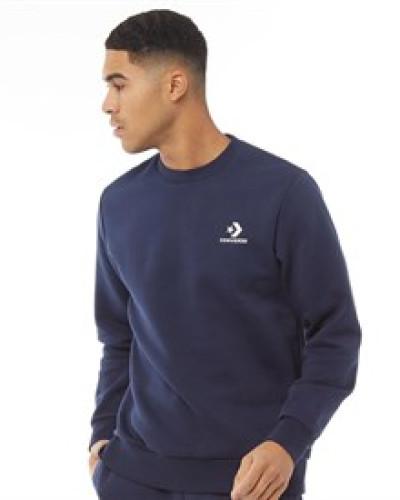 Star Chevron Gestickt Sweatshirt Navy