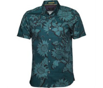 Ted Baker Mens Flowley Large Scale Floral Shirt Teal