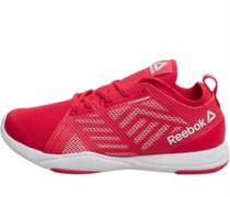 Damen Cardio Inspire Low Sneakers Rot