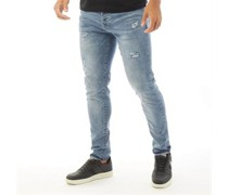 Hulme 664 Jeans in Slim Passform Hell