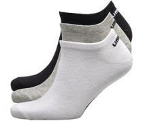 Drei Pack Socken