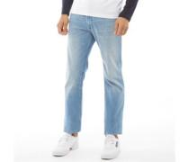 Clark Original JOS 313 STS Jeans mit geradem Bein Dunkelsteingrau