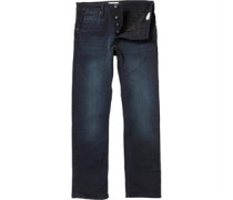 883 Police Mens Garcia MO 280 Sraight Fit Jeans Blue
