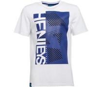Henleys Herren Mosaic T-Shirt Weiß