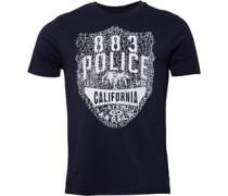 883 Police Herren Cali T-Shirt Blau