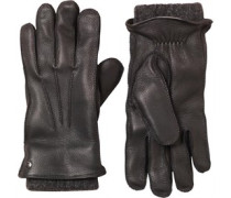 UGG Australia Womens 2 in 1 Whipstitch Glove Black Metallic