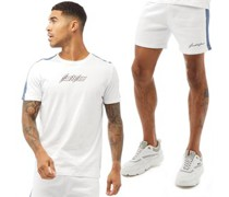 Ombre Shorts und T-Shirt Set