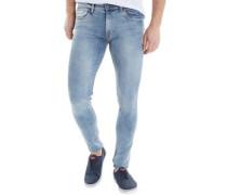 Mens Oberon Skinny Jeans Blue