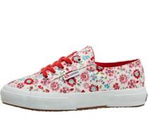 Mädchen 2750-COTFLOWERSJ Freizeit Schuhe Naturweiß