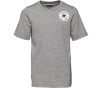 Converse Junior CTP Left Chest T-Shirt Vintage Grey Heather