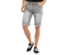 Amino Denim Shorts Hellgrau