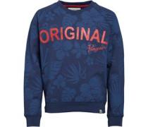 Original Penguin Junior Hibiscus Original Sweatshirt Dark Denim