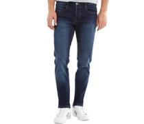 Herren Bernard Jeans in Slim Passform Dunkelblau