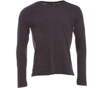 Herren Prague Sweatshirt Charcoal Marl