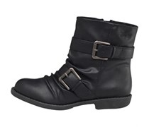 Blowfish Damen Anuku Stiefel Schwarz