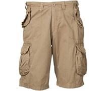 Herren Cargo Shorts Braun