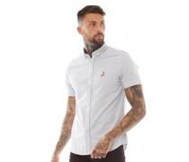 Meyer Hemd mit kurzem Arm Grau