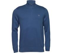 Herren Williams River 1/2 Zip Sweatshirt Blau