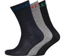 JACK AND JONES Herren Socken Mehrfarbig