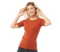 Valerie T-Shirt Dunkelorange