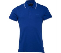 Armani Jeans Herren 8 Polohemd Blau
