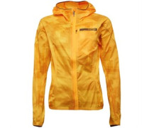 Damen Terrex Agravic Wasserdicht Performance Jacket Orange