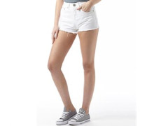 Damen Miley Denim Shorts Weiß