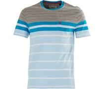 Original Penguin Herren French Streifen T-Shirt Türkis