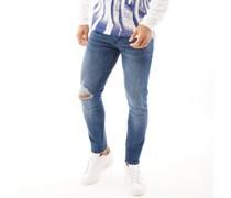 Flinton Jeans in Slim Passform Dunkel