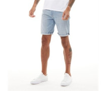 501® Hemmed Denim Shorts Verblasstes Hell