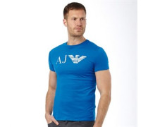 Herren Logo T-Shirt Cornflower Blue