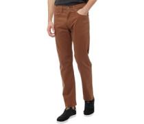 502 Jeans mit zulaufendem Bein Braun