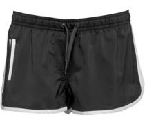 Damen Essential 3 Stripe Shorts Schwarz