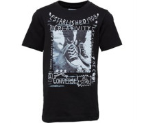 Converse Junior Doodle Photo Chucks T-Shirt Black