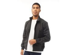 Harrington Fliegerjacke Anthrazit