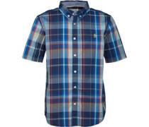 Original Penguin Junior Check Shirt Directoire Blue