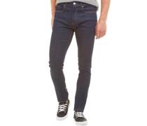 Herren Deadly 02 Skinny Jeans Dunkelblau